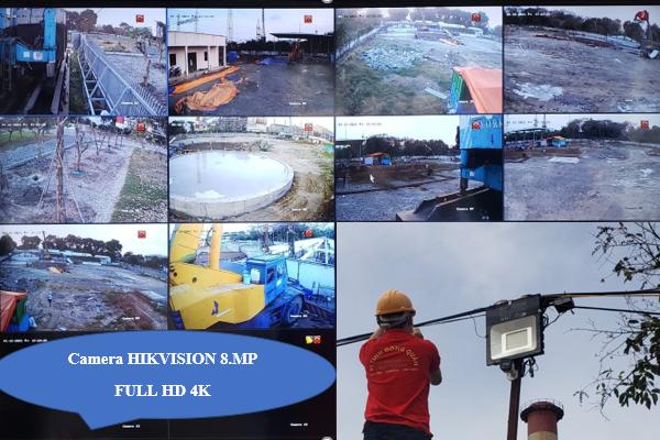 Camera HIKVISION 8MP FULL HD 4K