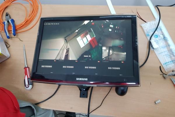 Công trình lắp đặt hệ thống Camera đầu ghi Hikvision cho Cty TNHH TM-DV Giao Vận