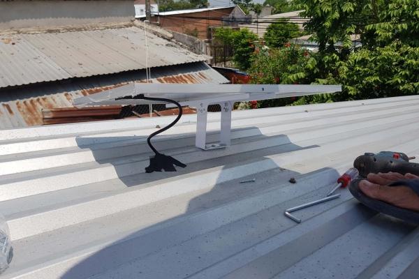 Công trình lắp đặt đèn Năng lượng mặt trời Ms.Thảo ở Củ Chi - TP.HCM