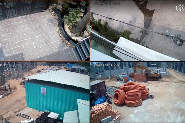Công trình lắp đặt Camera cho công trình xây dựng Quận 7 - TP.HCM - Cty Hoàn Thành Phát
