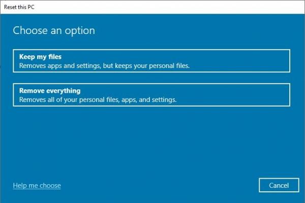 """Tìm hiểu về """"Reset this PC"""" - Tính năng quyền lực bật nhất của Windows 10"""
