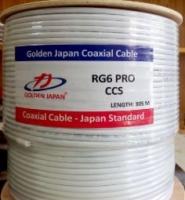 Cáp đồng trục Golden Japan RG6 nhập khẩu từ Nhật
