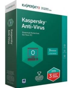 Phần mềm diệt virus Kaspersky Anti Virus (3PC / 1 năm)