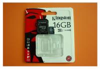 Thẻ nhớ MICRO-SD 16GB KINGSTON CLASS  10