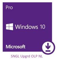 Win 10 Pro SNGL Upgrd OLP NL FQC09525