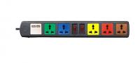 Ổ Cắm Đa Năng Có Cổng Sạc USB LIOA 6D32NUSB