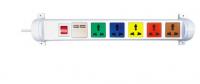 Ổ cắm kéo dài đa năng xoay LiOA có cổng USB 6D32WN2XUSB