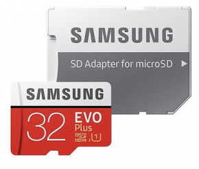 Thẻ nhớ MICRO-SD 32GB Samsung Evo plus - CL10W - Class 10