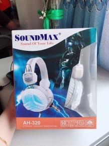 Tai nghe SOUNDMAX AH320 - TRẮNG