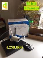 Bộ KIT 4 Camera IP Robo 1.3mpx + Đầu Ghi K1080420