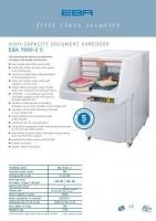 Máy hủy giấy EBA 7050-C2