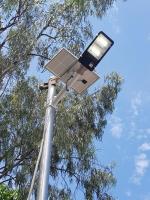 Đèn Năng Lượng  Mặt Trời 120W có Remote kèm chân đế