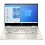 Laptop HP Pavilion x360 14-dw0061TU (có kèm Pen) 19D52PA - Gold I3-1005G1  4G  SSD 512GB  14'' FHD