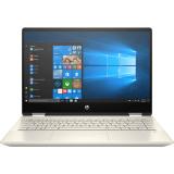 """Laptop HP Pavilion x360 14-dw0060TU (có kèm Pen) 195M8PA - Gold I3-1005G1  4G  SSD 256GB  14"""" FHD"""