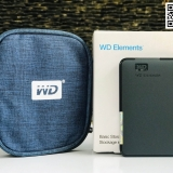 Ổ cứng di động WD Elements 500GB usb 3.0 (WD Black)