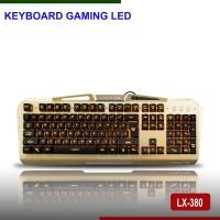 Bàn phím giả cơ LED LANGXIE LX380   MJ005