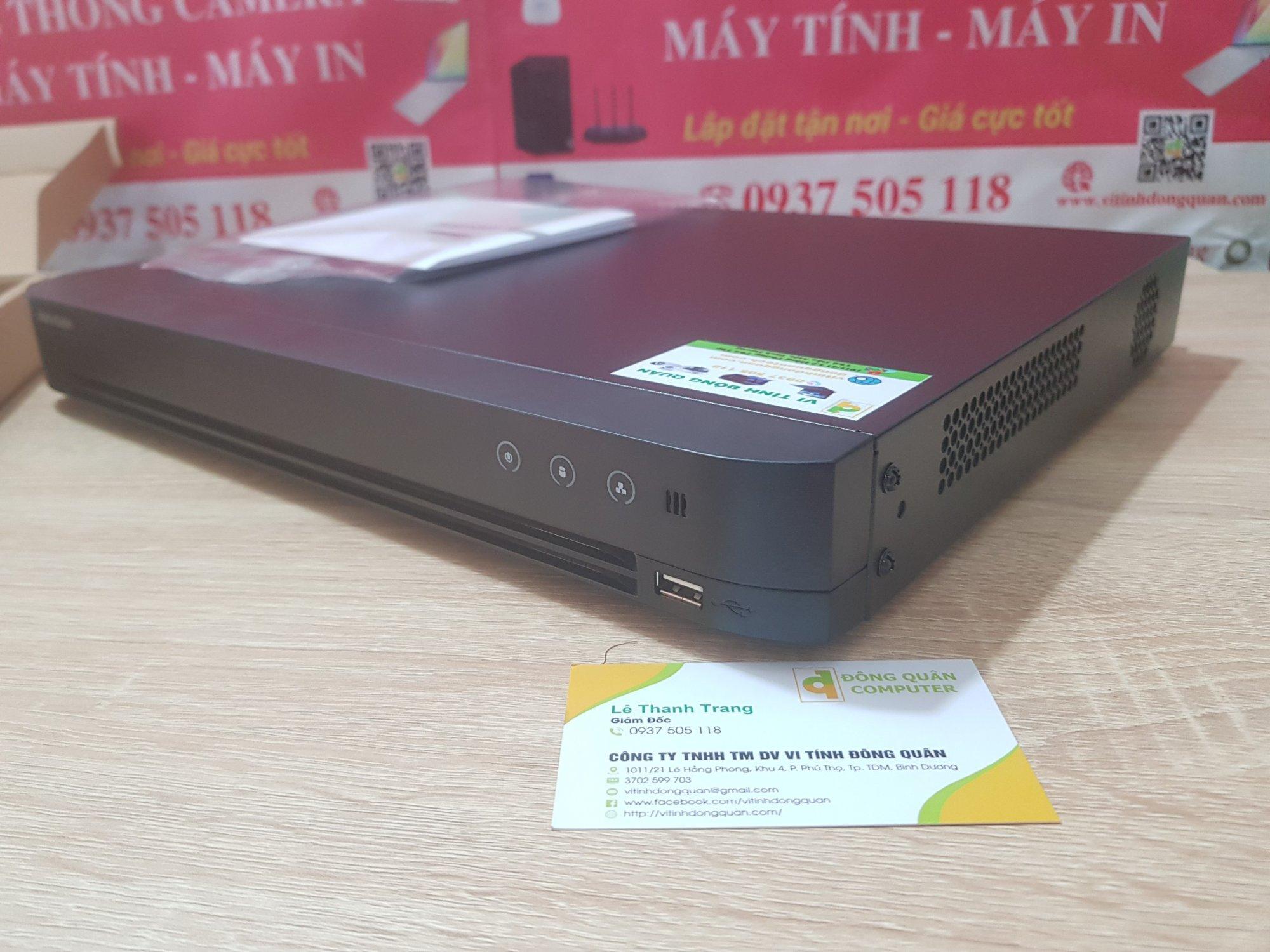 Đầu ghi hình 32 kênh - 2 ổ cứng Hikvision (DS-7232HGHI-K2)