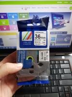 Tape nhãn in tương thích CPT-661 dùng cho máy in nhãn Brother P-Touch