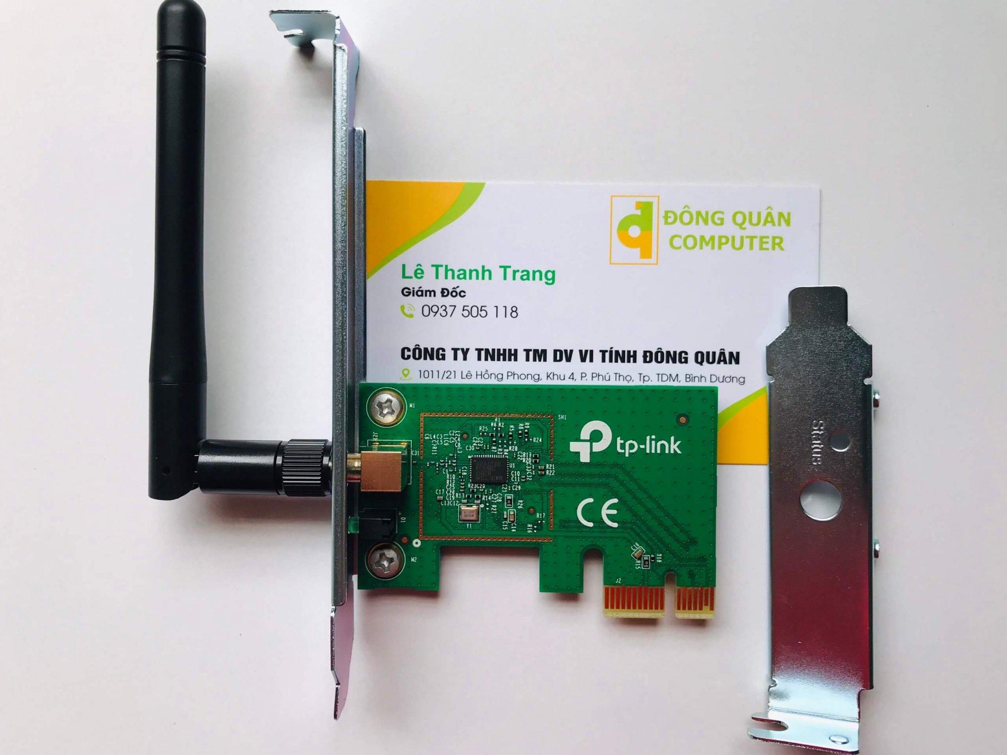 Thiết bị mạng / Card mạng không dây PCI Express TP-Link TL-WN781ND Wireless N150Mbps