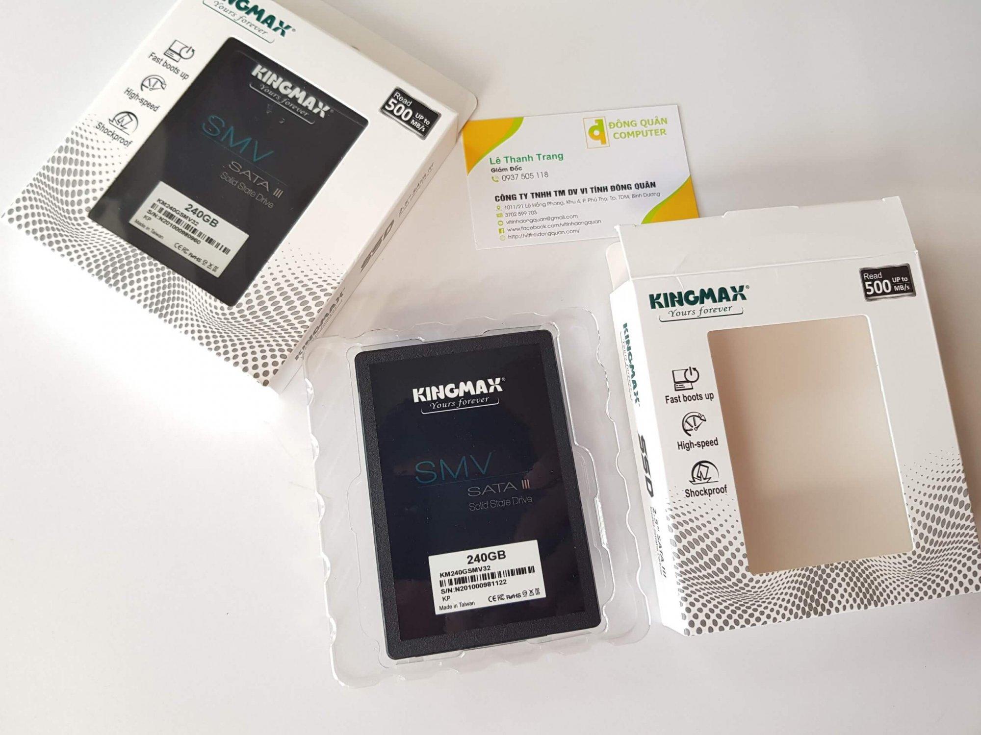 SSD KINGMAX SMV32 240GB