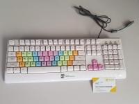 Bàn phím màu trắng R8 KB-1853 (White Keyboard)