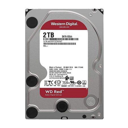 Ổ cứng HDD Western Red 2TB - WD20EFAX SATA3