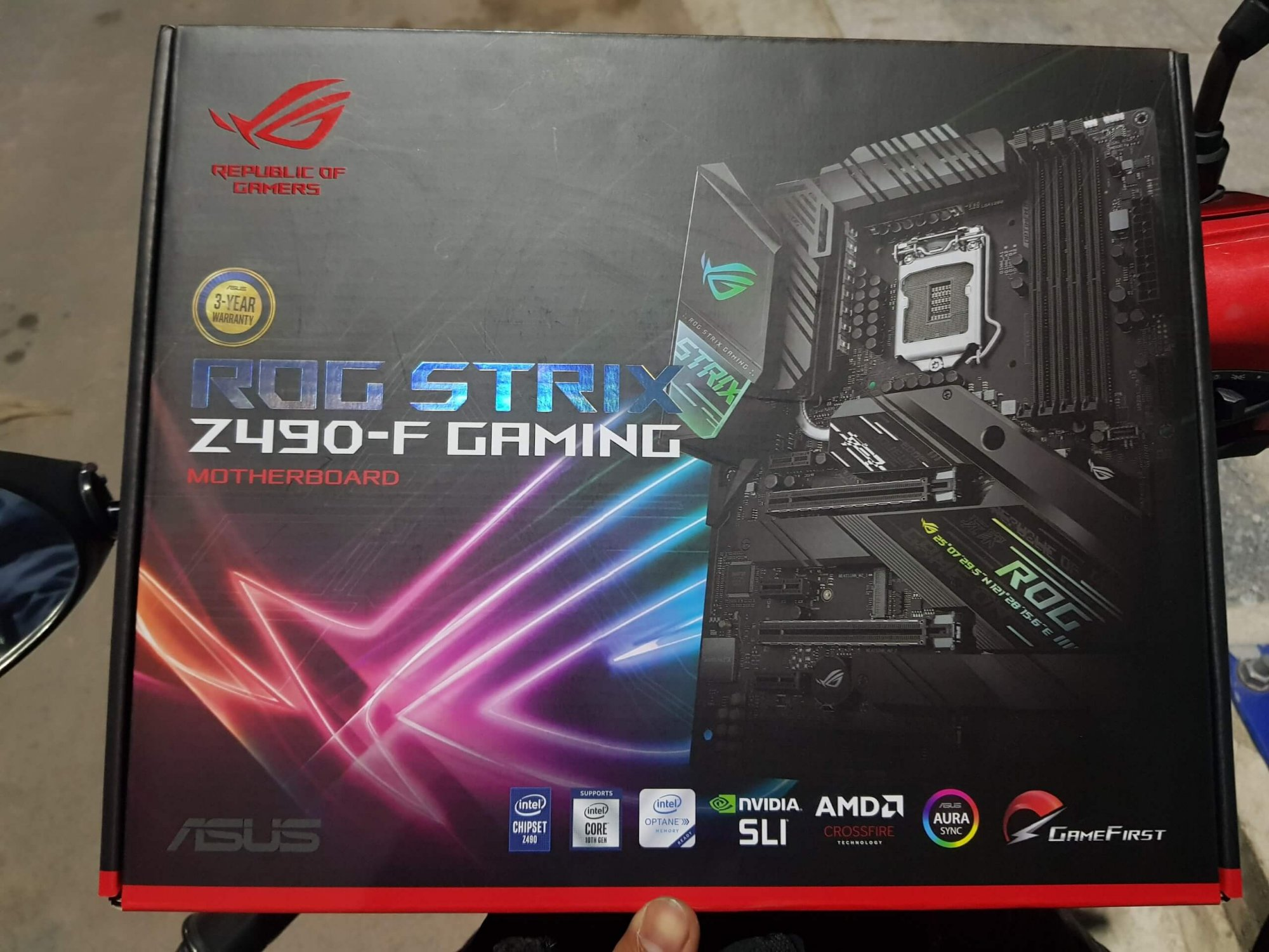 MAINBOARD ASUS ROG STRIX Z490-F GAMING