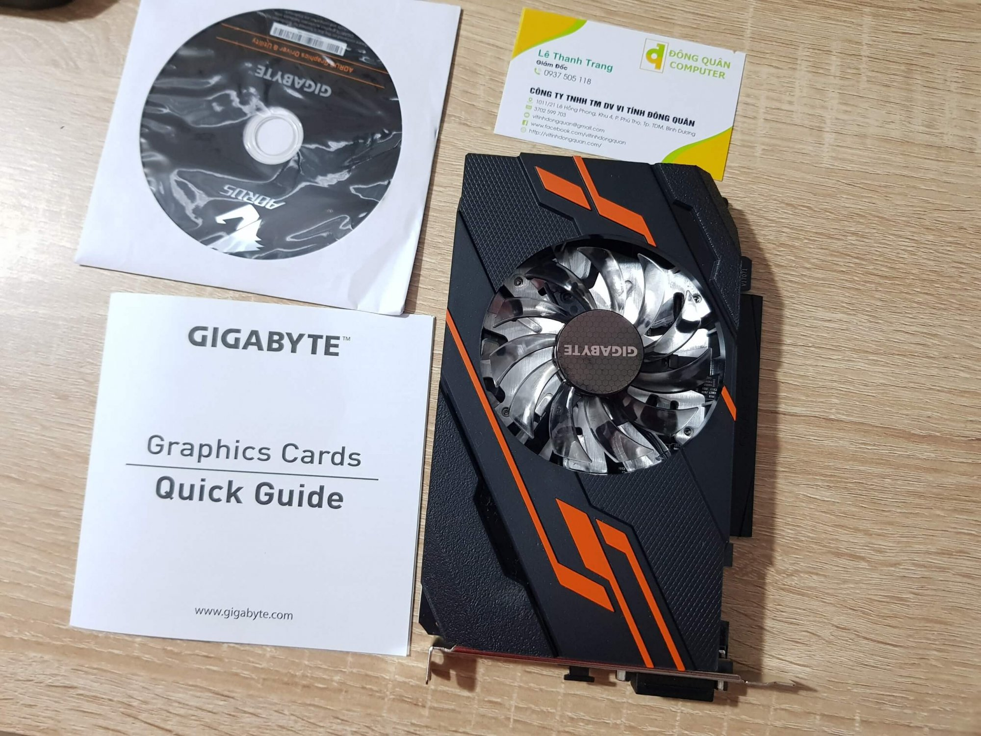 Card màn hình Gigabyte GT1030 2GB GDDR5
