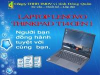 MÁY TÍNH XÁCH TAY LENOVO THINKPAD T14 GEN 1,I5-10210U,8GB DDR4,256GB SSD M.2 NVME/ 14INCH FHD/ FPR/ 3CELL 50WH/ WIN 10 PRO 64/ BLACK(ĐEN)_(20S0S01B00)