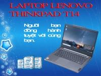 MÁY TÍNH XÁCH TAY LENOVO THINKPAD T14 GEN 1/ I5-10210U,8GG DDR4/ 256GB SSD M.2 NVME/ 14INCH FHD/ FPR/ 3CELL 50WH/ NO OS/ BLACK(ĐEN)_(20S0S01A00) - WARRANTY 03 YEAR