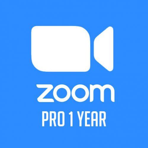 Phần mềm Zoom Pro 1 year | 1 host | 1 user