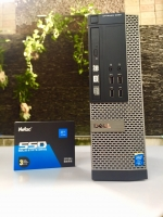 Máy bộ Dell 9020 Core i5 4570/ Ram4GB/ HDD500GB + SSD 128GB/  Chuột + Phím/ Màn hình 18.5inch