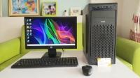 MÁY TINH BỘ RÁP I5-4460/RAM 4GB/SSD 240GB/LCD HP 19ICNH + BÀN PHÍM CHUỘT