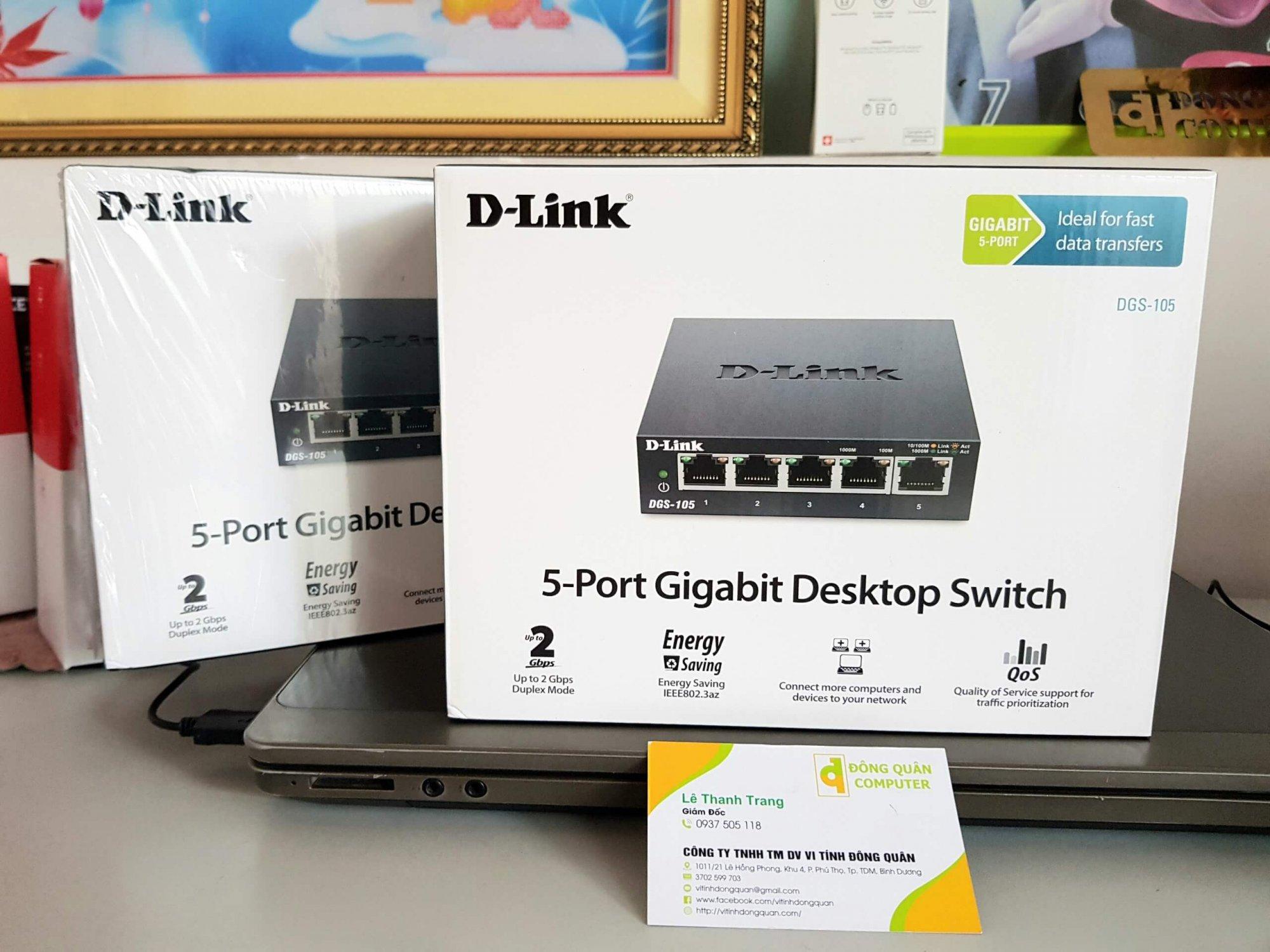 Switch 5 cổng D-Link DGS-105