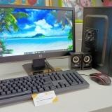 Máy tính bộ để bàn i3-6100 | 4GB | SSD 240GB | KB + MOUSE | LCD HP