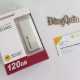 Ổ cứng di động SSD 120GB - Transcend ESD240C USB 3.1 Gen 2