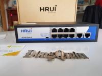 Switch POE 10 cổng HRUI HR900-AF-82N
