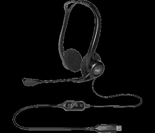 Tai nghe On-ear Logitech H370 màu đen (Black)