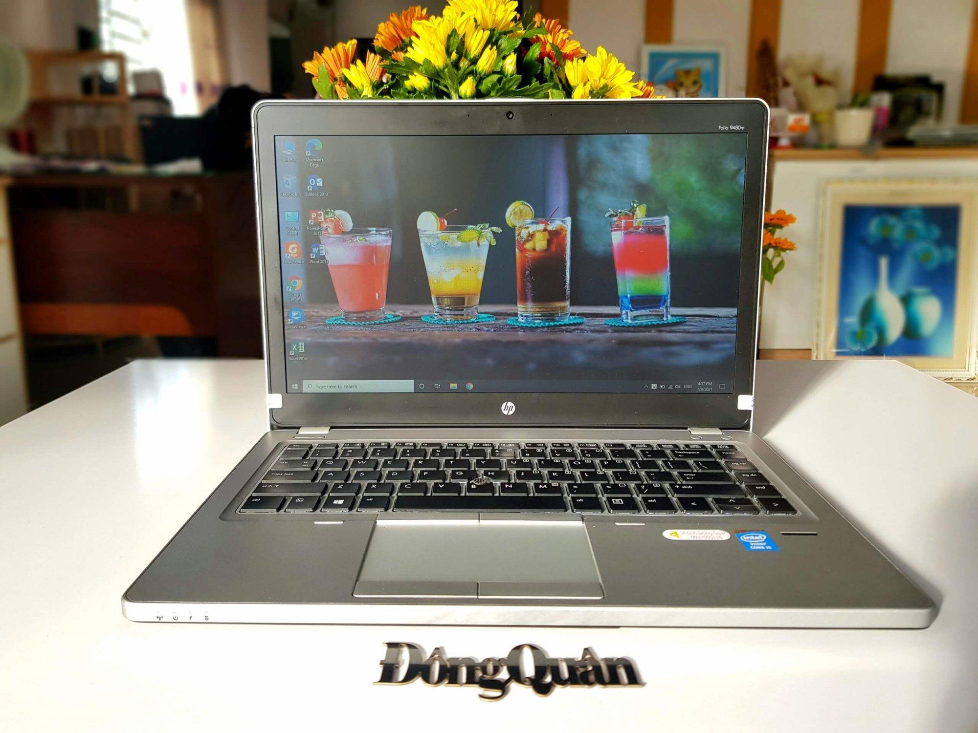 """Laptop HP ELITEBOOK FOLIO 9480M CORE I5-4310U   8GB RAM   240GB SSD   INTEL® HD GRAPHICS 4000   14"""" HD"""