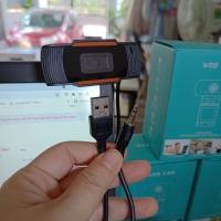 Webcam Máy Tính hoặc Laptop, camera HD (720p) Lấy Nét Tự Động có Micro