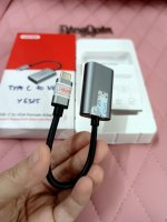 Cáp chuyển USB Type-C sang VGA Unitek Y6315