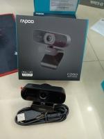 Webcamera của máy tính màu đen Rapoo C260