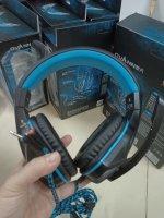 Tai nghe Ovann X2 màu xanh